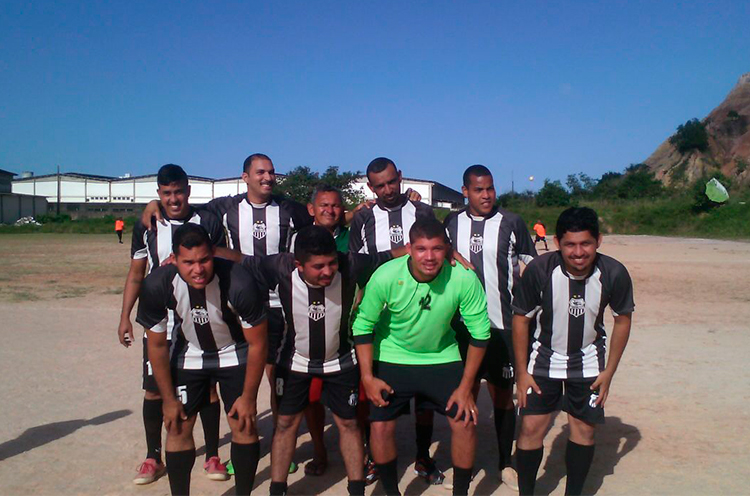 Equipe Central do Jordão no Campo do Penharol, RPA-6