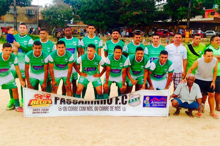 Equipe Passarinho F.C ,da RPA-2