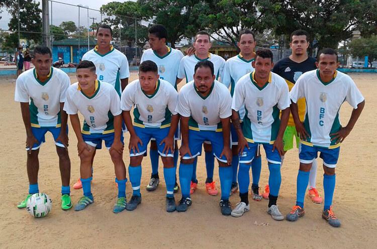 Brasileirinho F.C em jogo decisivo no campo da Sudene.