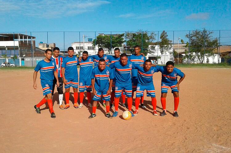 E.C Bahia Iputinga no campo da Roda de Fogo.