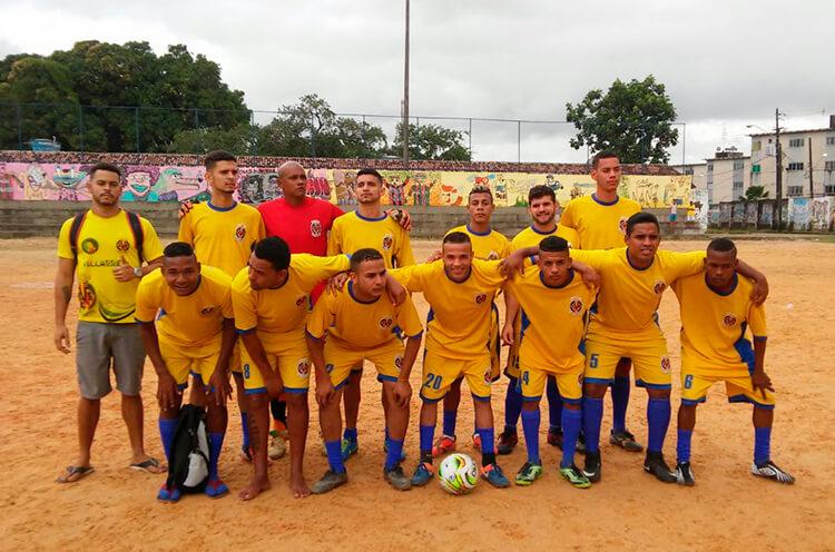 Equipe Vila real CMF na RPA-5