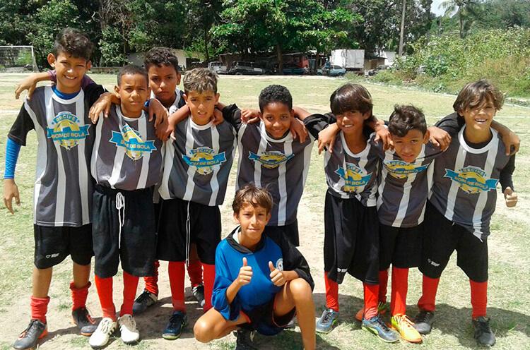 Equipe do Cruz de Malta categoria Sub-11