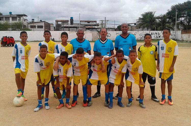 Equipe Sub-13 do Jovem Mirim