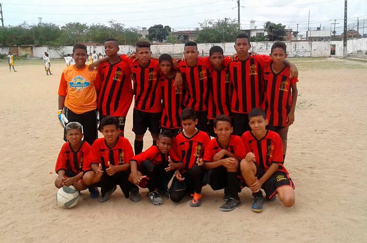 Equipe Sub-13 do Mocidade