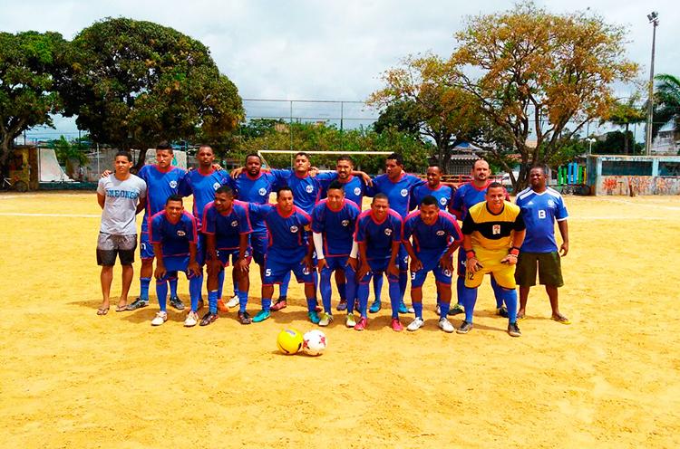 Equipe Revelação FC.