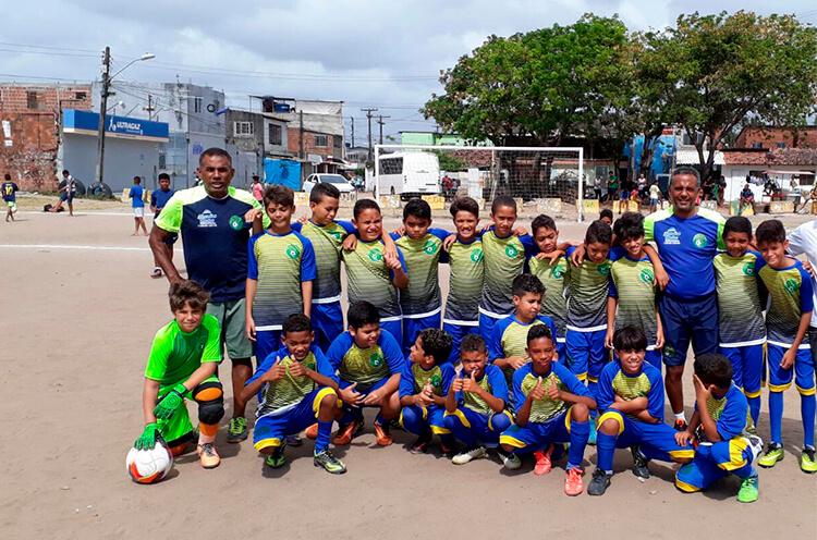 Equipe Futebol sem Barreiras, Categoria Sub-11.
