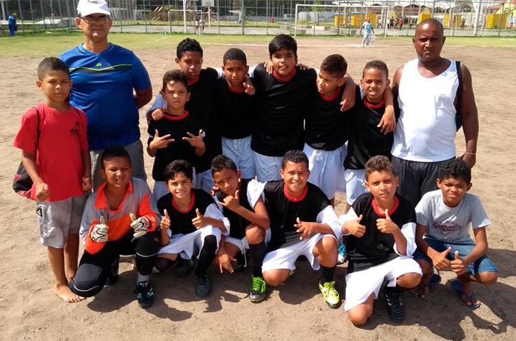 Equipe Formoso F.C. Categoria Sub-11.