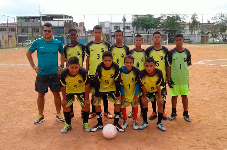 Equipe Escolinha do Pacheco, Categoria Sub-13.