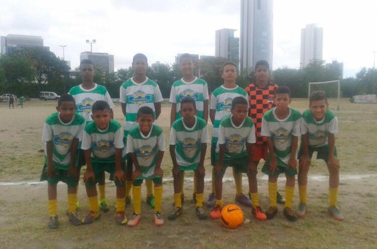 Equipe Sub-13 do Estrela do Norte