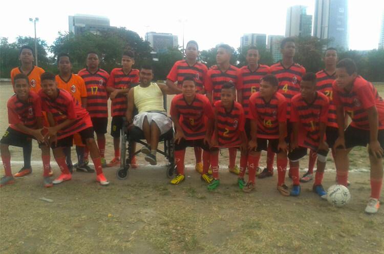 Equipe Sub-13 do Milan