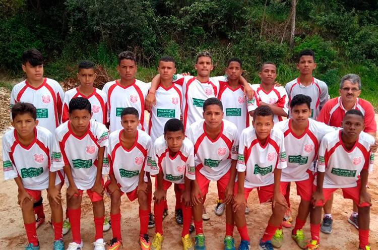 Equipe Pereirinha F.C. Categoria Sub-15.