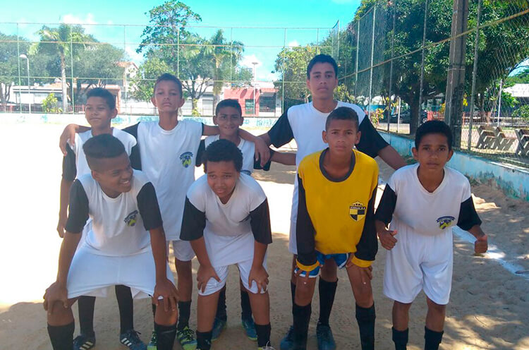 Equipe da Escolinha Seu Elias