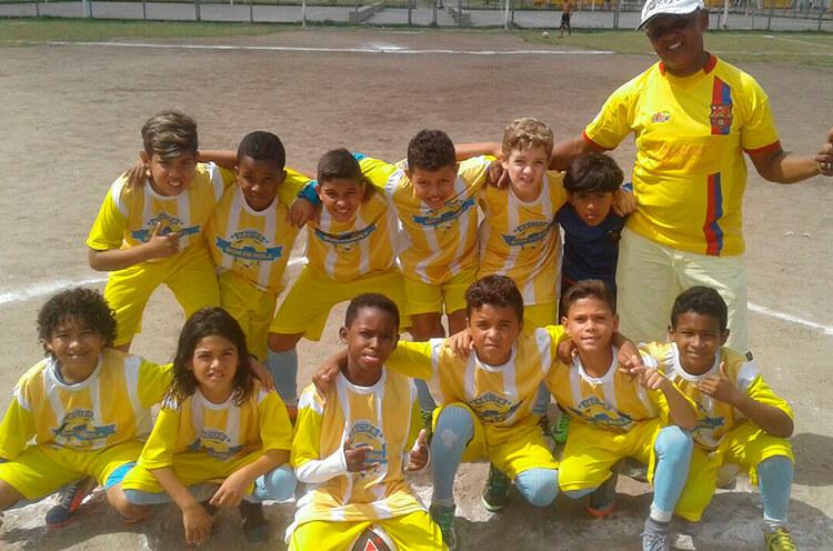Equipe Sub-11 do Futebol Club Buriti
