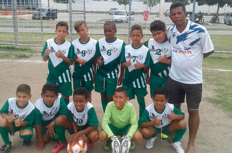 Equipe Sub-11 HB Talentos