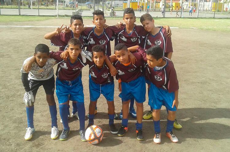 Equipe Sub-13 HB Talentos