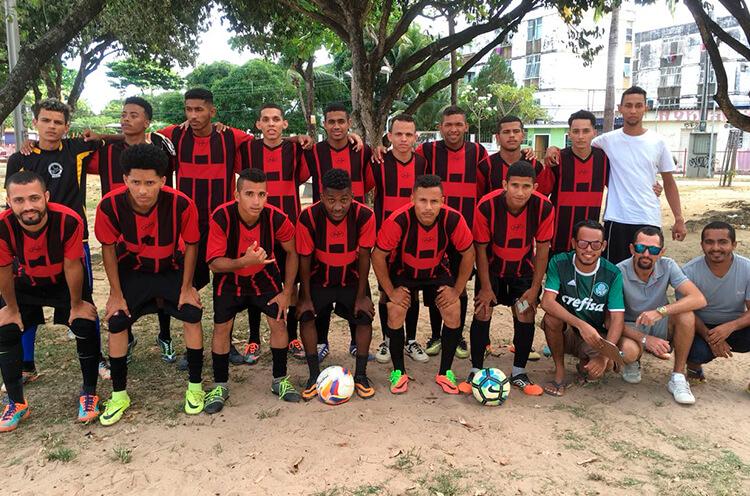 Equipe do Palestra F.C do Jordão.