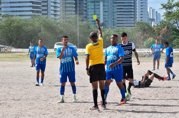 jogo entre as equipes da Estrela do Norte e Corinthians do Coque.