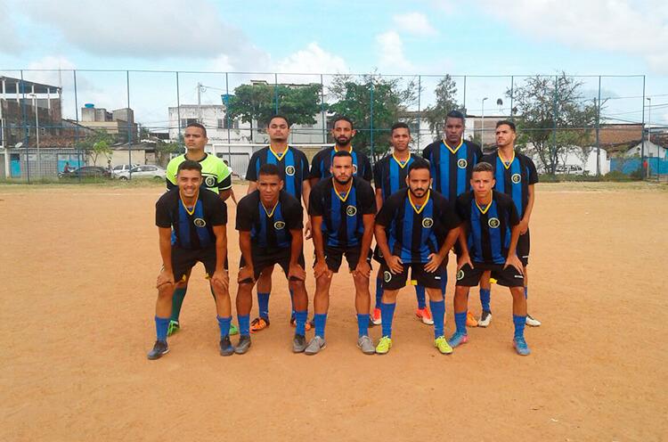 Equipe do Sesc Futebol Clube.