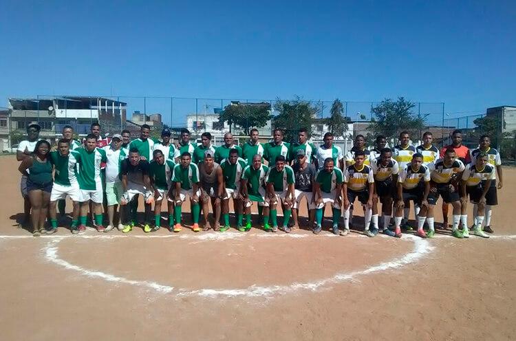 Equipes Verdinho X Levantou Poeira, categoria Aberto Masculino